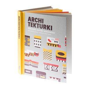 Książka dla dzieci Archi Tekturki Powojenne Budynki Warszawskie