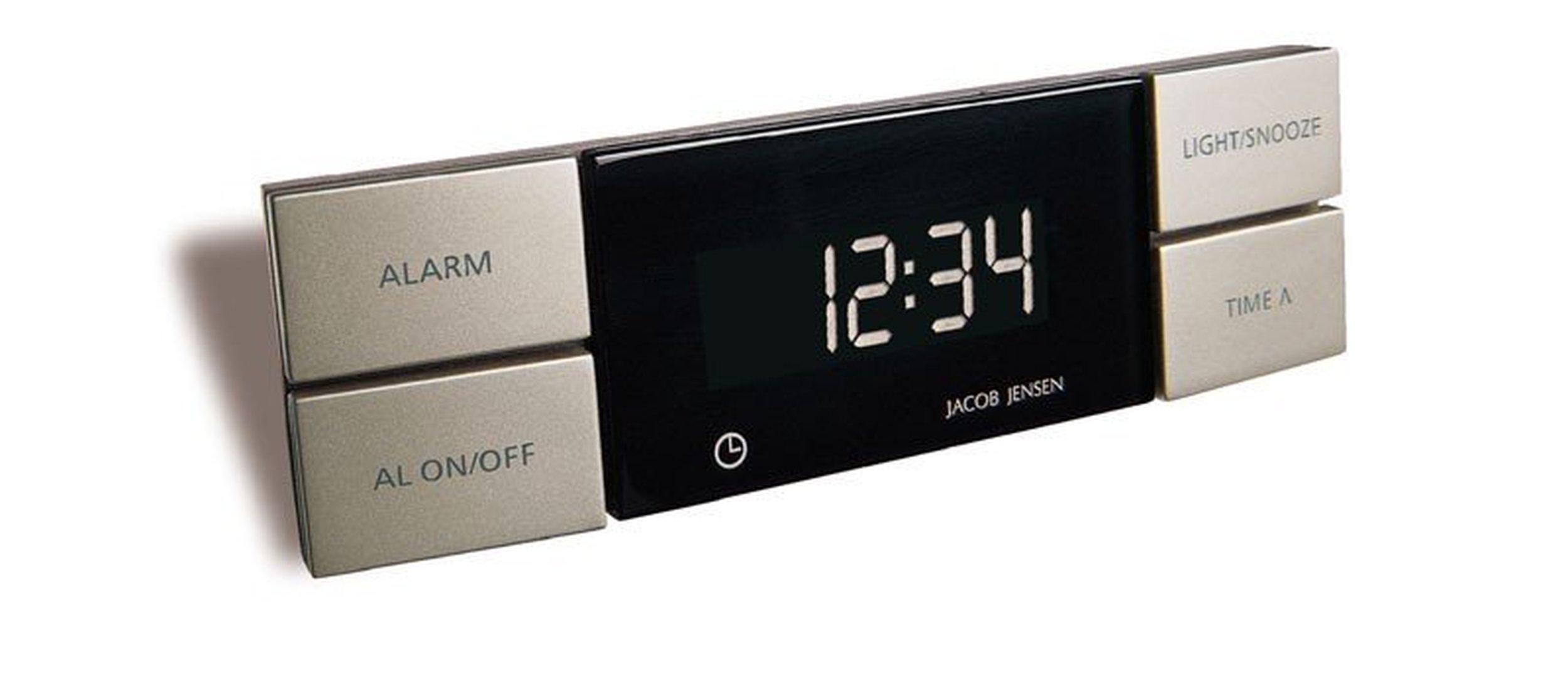 zegar z budzikiem jacob jensen element stacji pogodowej. Black Bedroom Furniture Sets. Home Design Ideas
