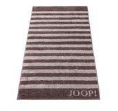 Ręcznik 100x50 cm Classic Stripes brązowy - małe zdjęcie
