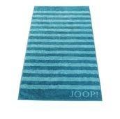 Ręcznik 100x50 cm Classic Stripes turkusowy - małe zdjęcie