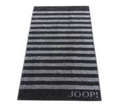 Ręcznik 100x50 cm Classic Stripes ciemnoszary - małe zdjęcie