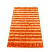 Ręcznik 100x50 cm Classic Stripes pomarańczowy - małe zdjęcie