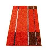 Ręcznik 100x50 cm Shades Squares pomarańczowy - małe zdjęcie