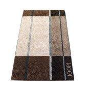 Ręcznik 100x50 cm Shades Squares brązowy - małe zdjęcie