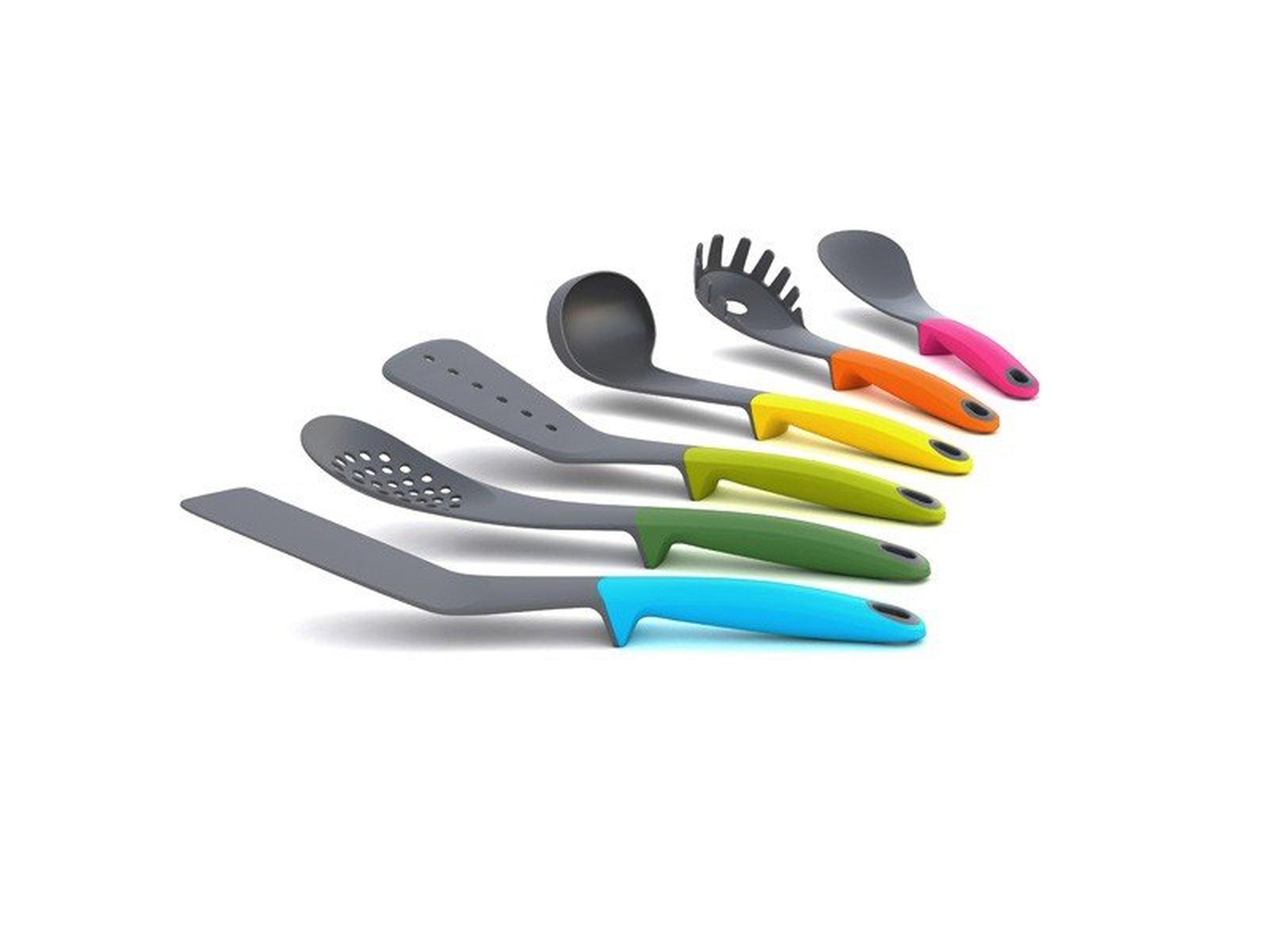 Akcesoria do gotowania, Elevate, kolorowe packi do teflonu, idealne na prezent