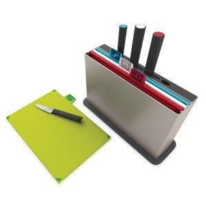 Deski do krojenia w etui Index New z nożami
