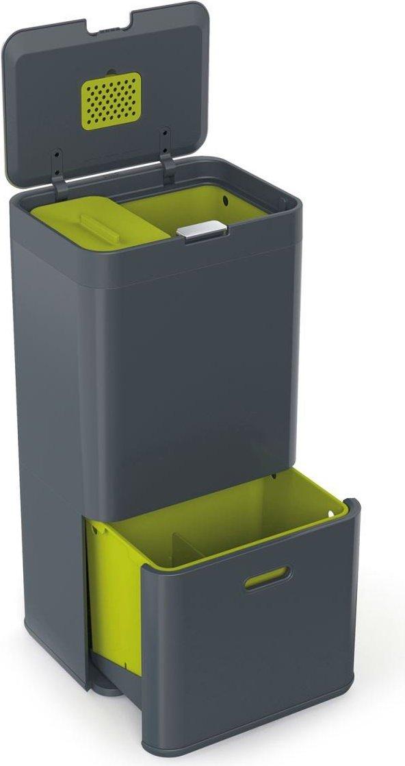 Topnotch Kosz na śmieci Totem Intelligent Waste 60 l - Joseph Joseph   FF LB67