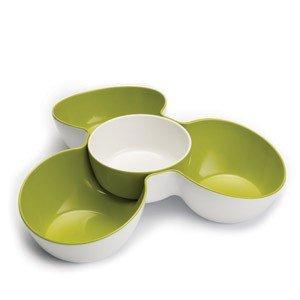 Miska Triple Dish