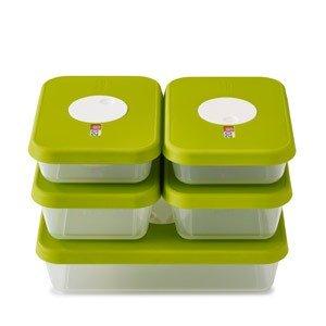 Pojemniki do przechowywania jedzenia Dial w zestawie