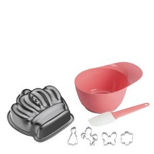 Forma do ciasta z 4 foremkami w zestawie Księżniczka Violetta