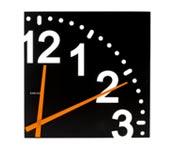 Zegar �cienny Unlimited czarny