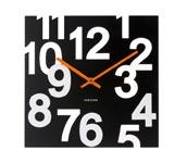 Zegar �cienny Random czarny