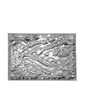 Taca Dune duża metalizowany chrom - małe zdjęcie