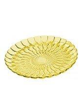 Talerz ozdobny Jelly żółty - małe zdjęcie