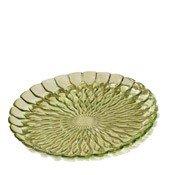 Talerz ozdobny Jelly zielony - małe zdjęcie