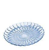 Talerz ozdobny Jelly niebieski - małe zdjęcie