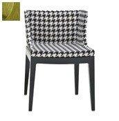 Krzesło Mademoiselle czarny korpus adamaszek - małe zdjęcie