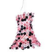 Lampa wisząca Bloom różowo-czarna - małe zdjęcie