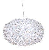 Lampa wisząca Big Bloom nieprzeźroczysta biała - małe zdjęcie