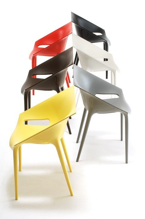 krzes o dr yes kartell philippe starck fabryka form. Black Bedroom Furniture Sets. Home Design Ideas