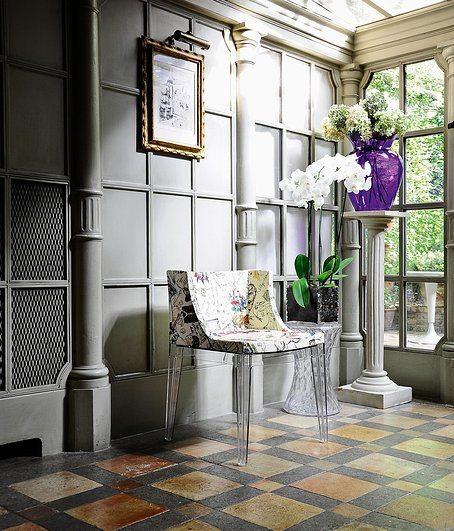 Mademoiselle � La Mode Missoni Chair Kartell: Krzesło Mademoiselle A La Mode