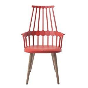 Krzesło na drewnianych nogach Comback