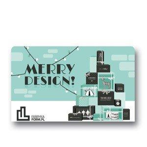 Karta prezentowa Merry Design