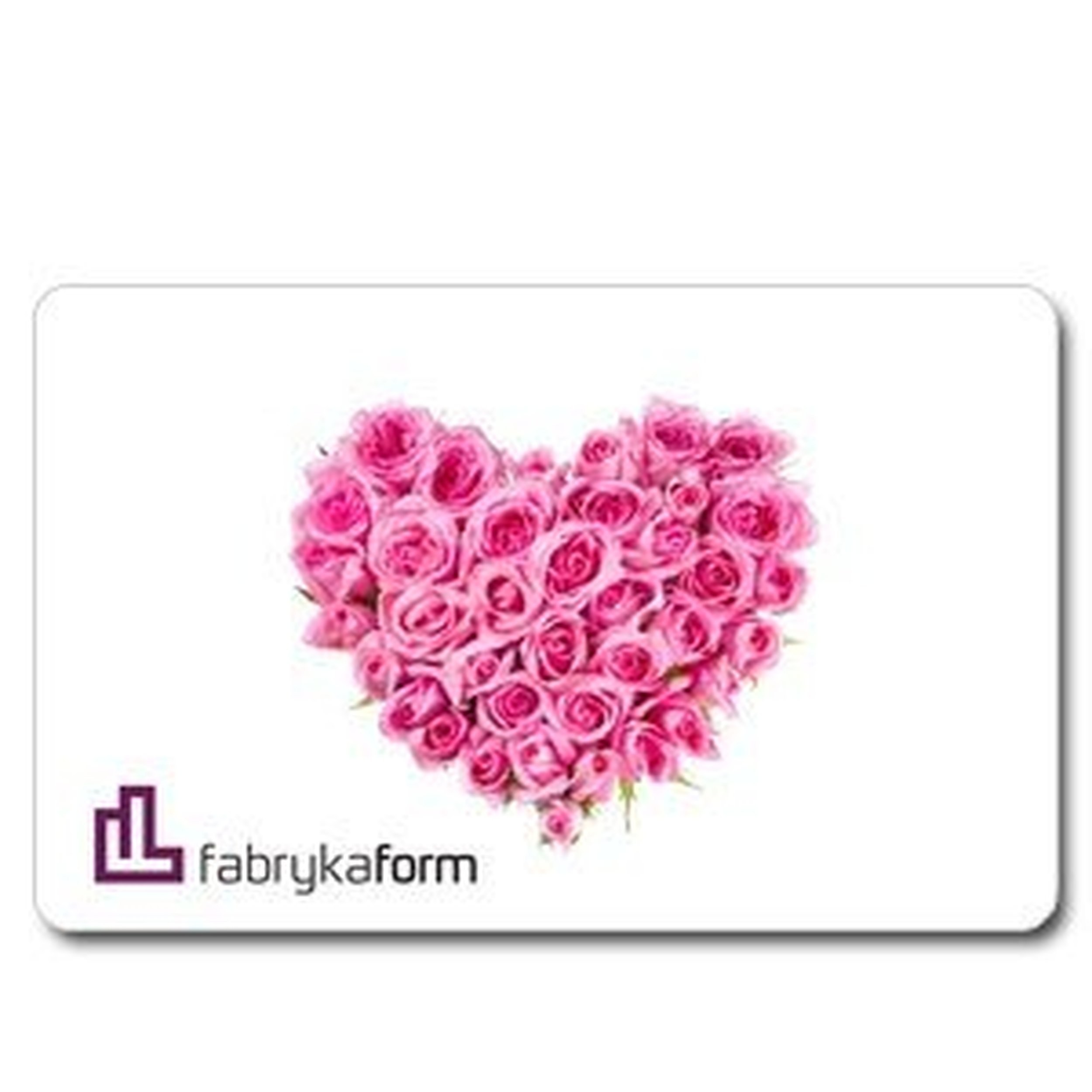 Karta prezentowa serce