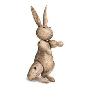 Dekoracja drewniana królik