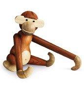 Dekoracja drewniana małpa duża - zdjęcie 1