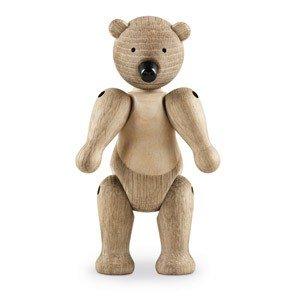 Dekoracja drewniana niedźwiedź