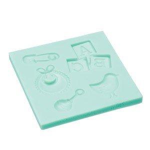 Forma silikonowa do ozdób z lukru Baby