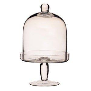 Patera szklana z kloszem Artesa