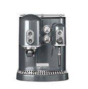 Ekspres do espresso Artisan srebrzystopopielaty