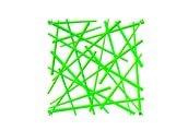Panel dekoracyjny Stixx zielony - małe zdjęcie