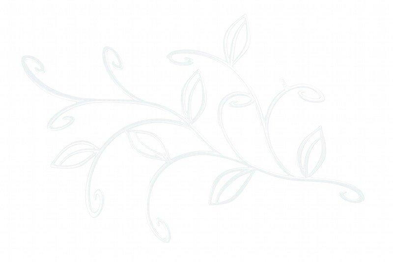 Dekoracja wisząca Ivy biała