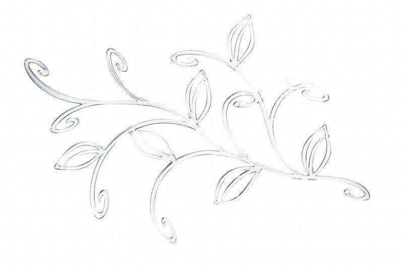 Dekoracja wisząca Ivy przezroczysta