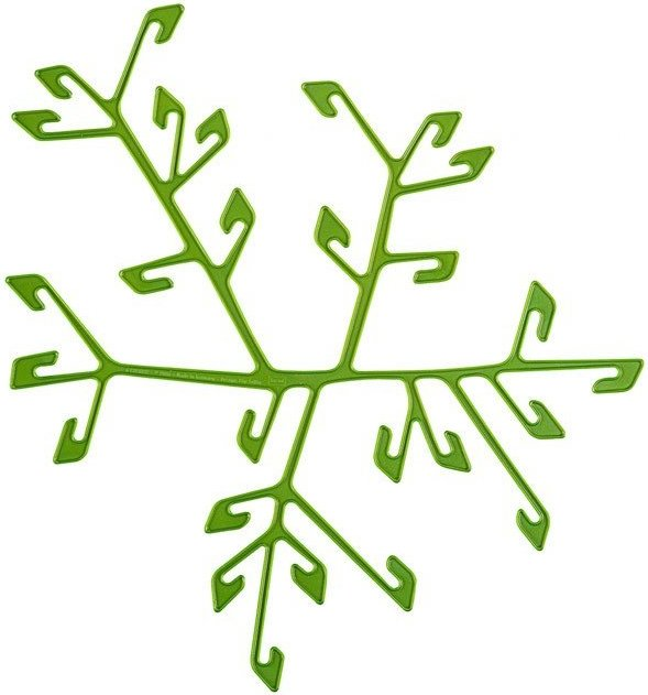 Dekoracja Cherrie oliwkowa