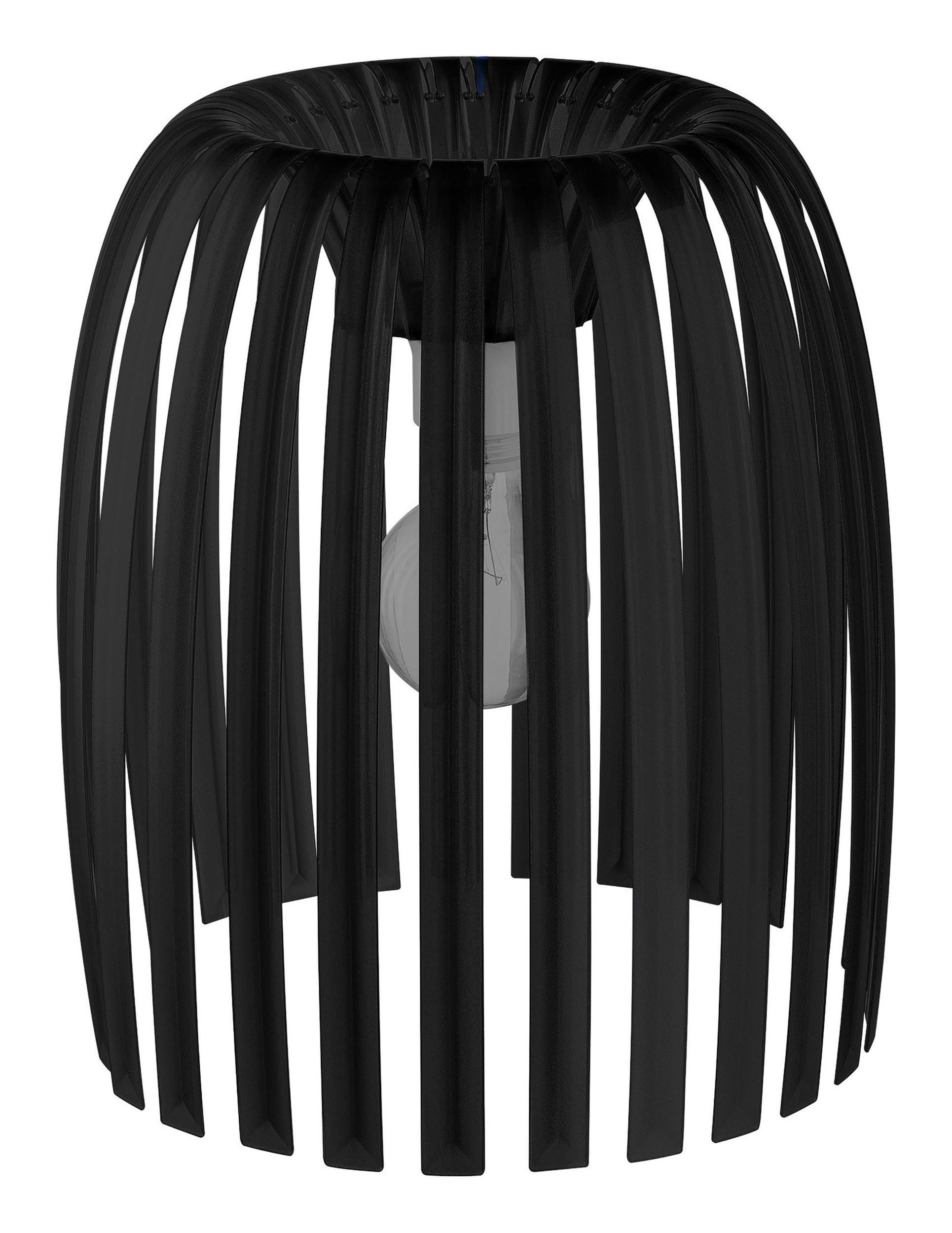Lampa Josephine M 2.0 nieprzezroczysta czarna