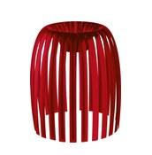 Lampa Josephine M 2.0 przezroczysta czerwona