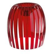 Lampa Josephine XL 2.0 przezroczysta czerwona