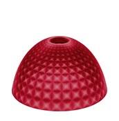 Lampa Stella Silk M przezroczysta czerwona