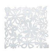 Panel dekoracyjny Alice 4 szt. transparentny - małe zdjęcie