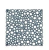 Panel dekoracyjny Oxygen 4 szt. welwetowy błękit