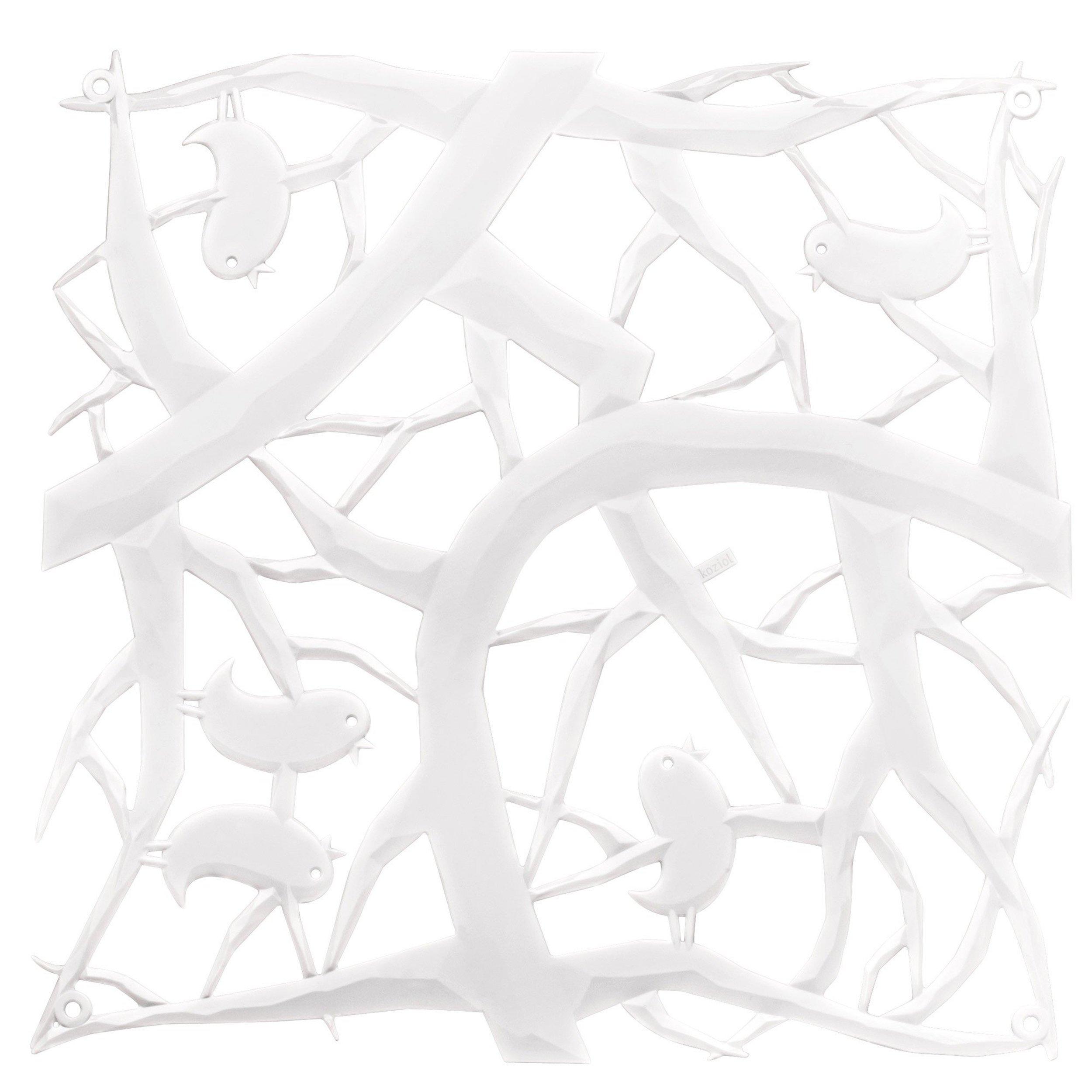 Panel dekoracyjny Pi:P 4 szt. biały