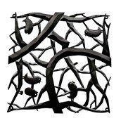 Panel dekoracyjny Pi:P 4 szt. czarny - małe zdjęcie