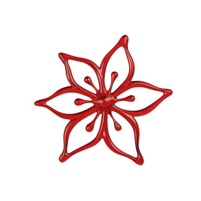 Kwiatek ozdobny do dekoracji Ivy Bloom czerwony