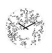Zegar ścienny Rosi biały