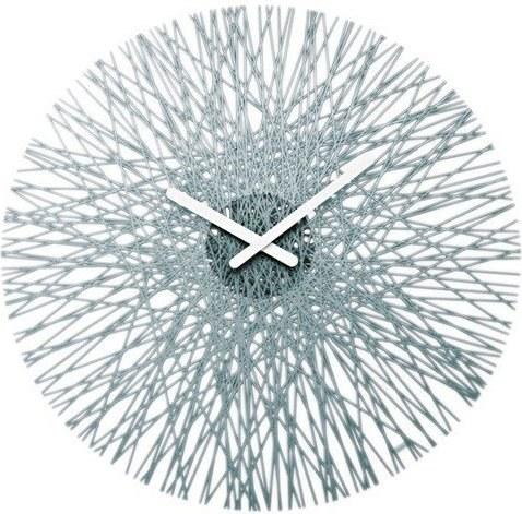 Zegar ścienny Silk antracytowy