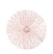 Zegar ścienny Silk pudrowy róż